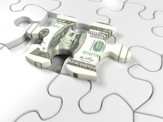 Dollar puzzel