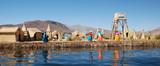 Uros Island, Lake Titicaca, Peru - 58136553