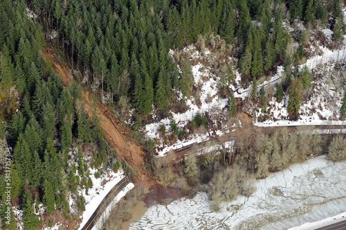 Washington Forest Mudslides - 58137157