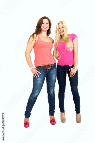 junge nette Damen