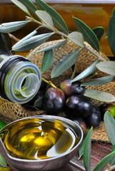 Mestolo d'olio d'oliva