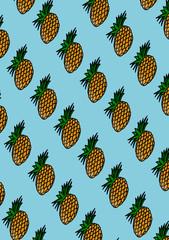 sfondo ananas