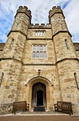 Leeds castle entrance, Kent, United Kingdom