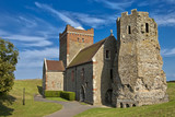 Roman Lighthouse and Anglo-Saxon church in Dover Castle, Kent