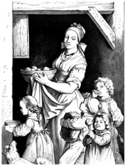 Trad. Peasants : Mother & Children