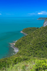 Beautiful Top view of Ang Thong National Marine Park, Thailand