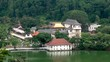The Temple of the Tooth Relic in Kandy, Sri Lanka.