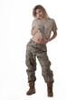 Army girl 10
