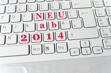 Helle Tastatur: Neu ab 2014