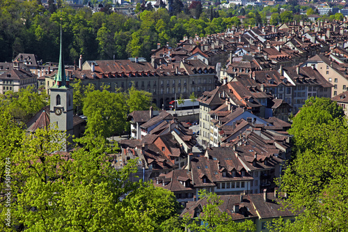 Cityscape of Bern, Switzerland