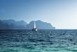 yacht and ocean Krabi province, Thailand