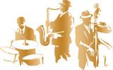Fototapety Jazz Trio