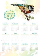 pitta bird calendar 2014