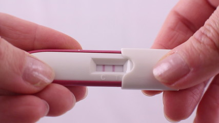 positive result of pregnancy test