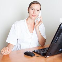 Arzttermin am Telefon