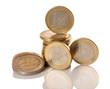 Dinero en monedas