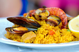Fototapety paella with seafood