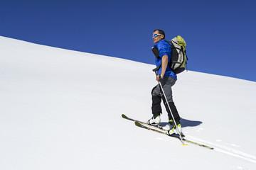 scialpinista, Alpi italiane Parco Nazionale Gran Paradiso