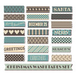 Christmas Washi Tape Collection