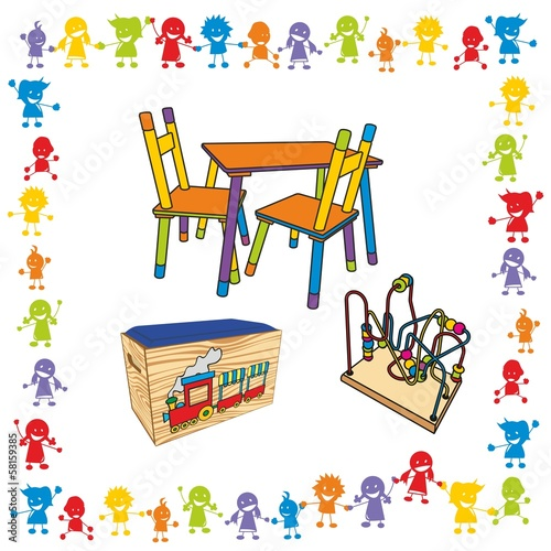 Kinder ~ Kids ~ Children in Aktion - Kinderzimmer