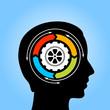 Thinking mind symbol