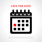 Save the date placard