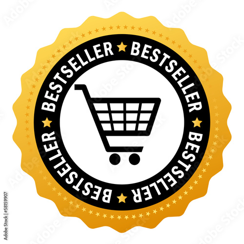 Bestseller vector icon