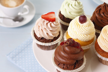 Cupcakes zur Jause