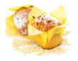Muffins, Mandeln