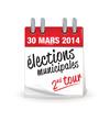 électons municipales de 2014 en France - second tour
