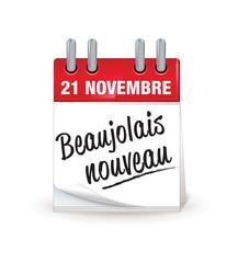 21 novembre : le beaujolais nouveau