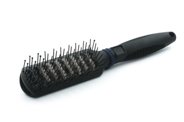unhygienic hairbrush