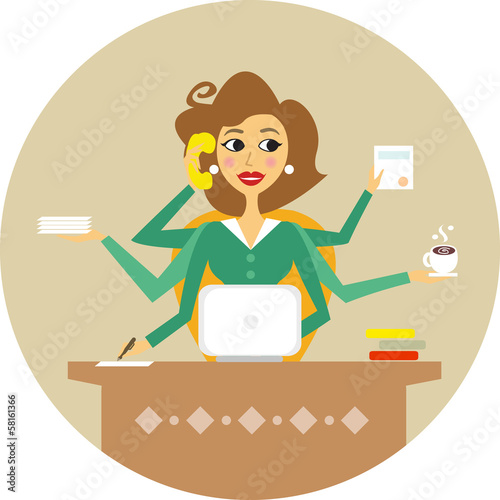 secretary - 58161366