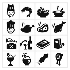 Restaurant Icons two
