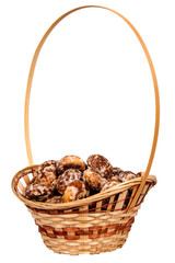 basket with spice-cakes