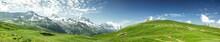 "Постер, картина, фотообои ""Panorama Mont-Blanc"""