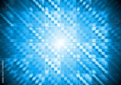 Abstract vector hi-tech motion background
