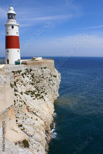 Europe point Lighthouse, Gibraltar