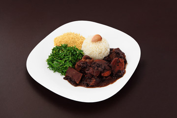 Brazilian Feijoada with garlic