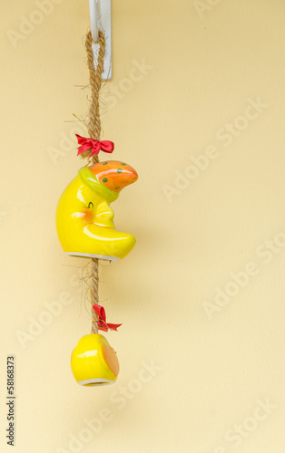 hanging ceramic mobile