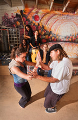 Capoeira Instructor Teaching