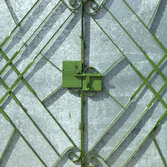 Green metal gate