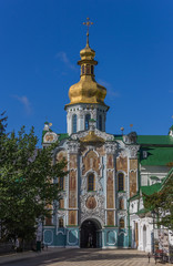 Entrance gate of the Pechersk Lavra in Kiev