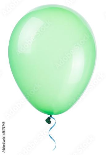 flying balloon isolated - 58173749