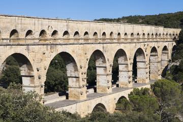 Nimes Aqueduct Pont du Gard
