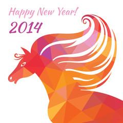 Horse - Happy New Year