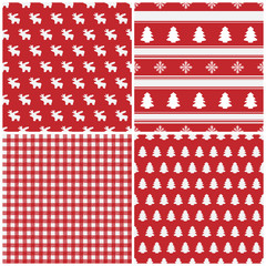Christmas - Seamless Pattern - Set (II)