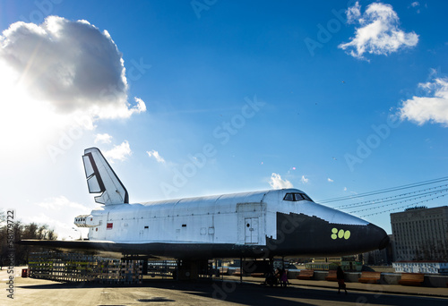 shuttle on the street