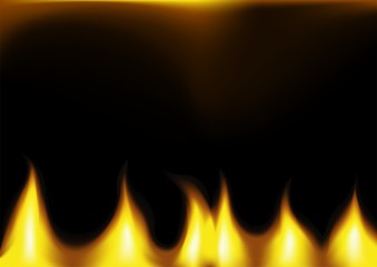 Flames - Abstract Background