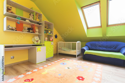 Urban apartment - nursery room
